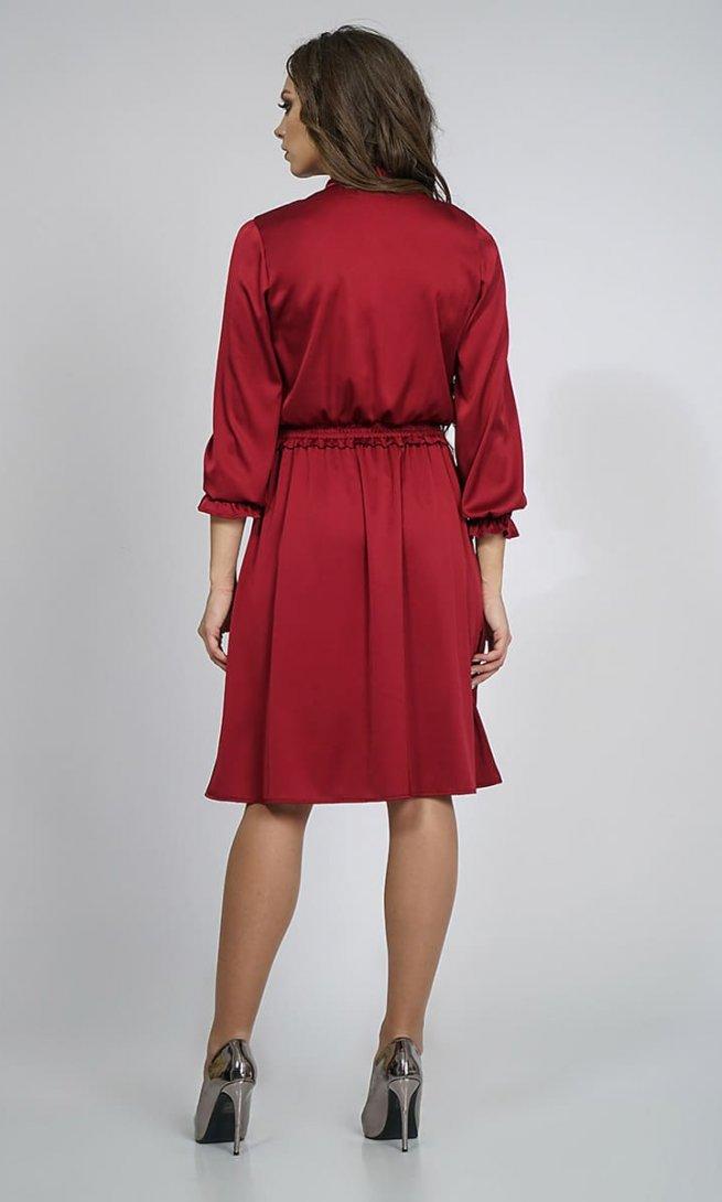 Платье Alani 882 винное
