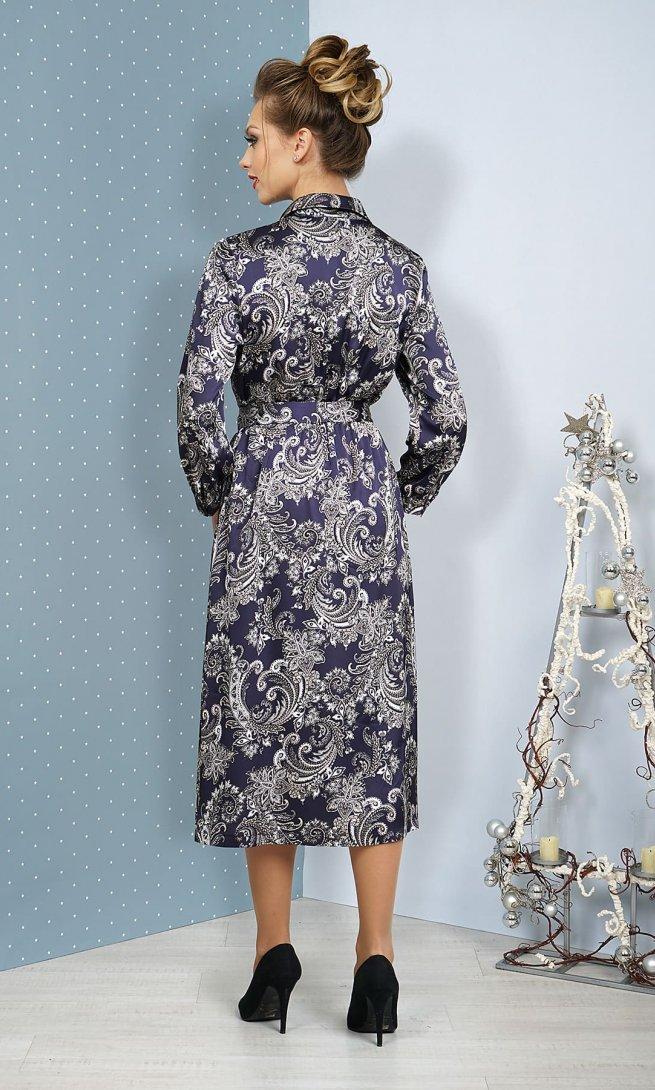 Платье Alani 1074 синее