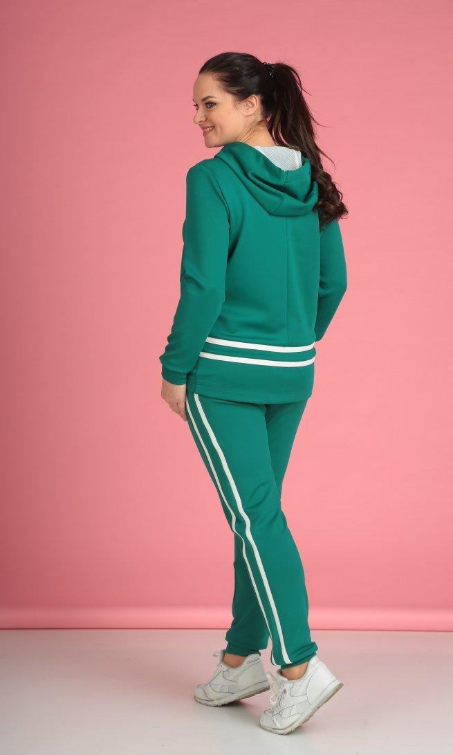 Костюм Anastasia Mak 578 зеленый