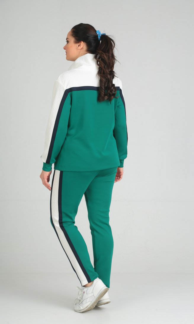Костюм Anastasia Mak 579 зеленый