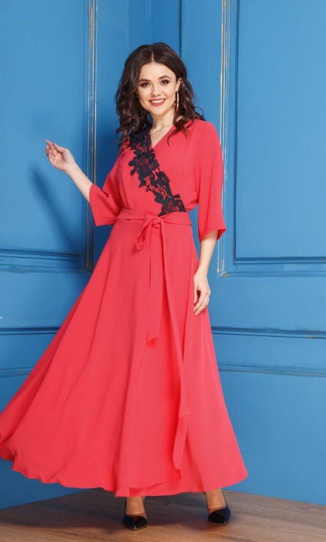 Платье Anastasia 267 красное