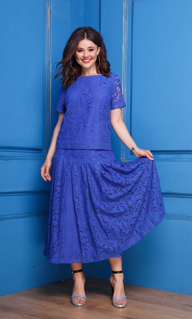 Комплект Anastasia 271 синий