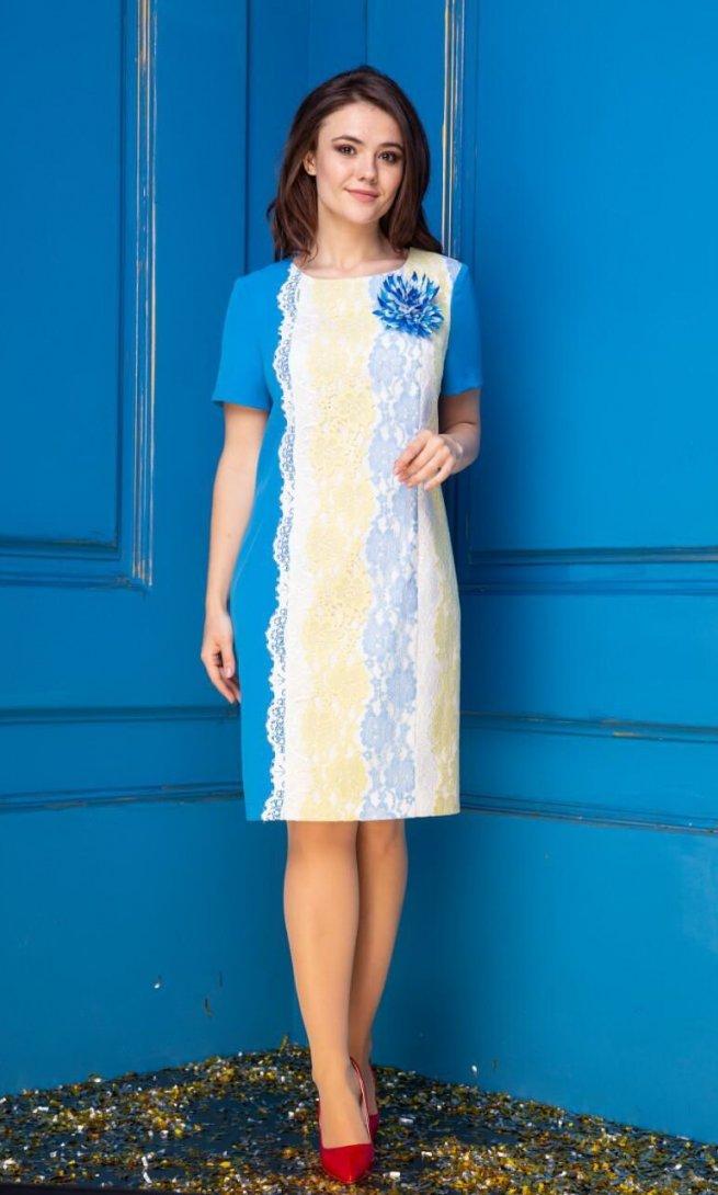 Платье Anastasia 275 с украшением