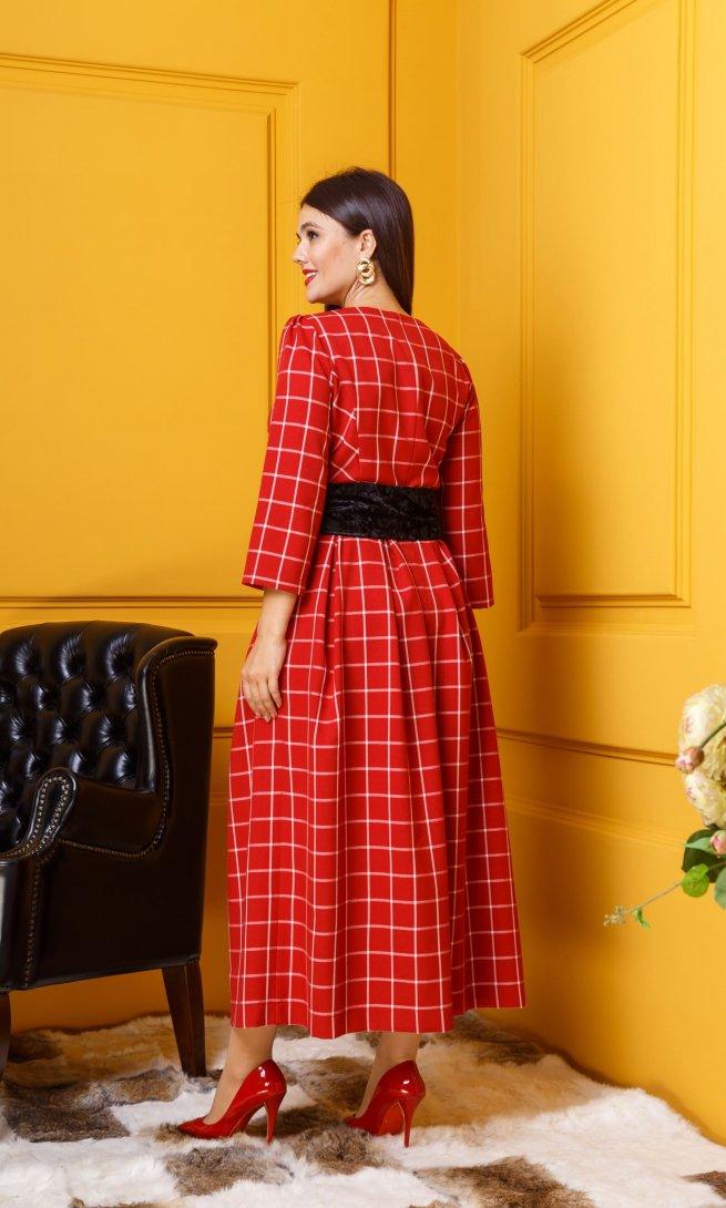 Платье Anastasia 334 красное