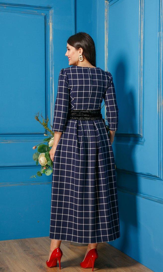 Платье Anastasia 334 синее