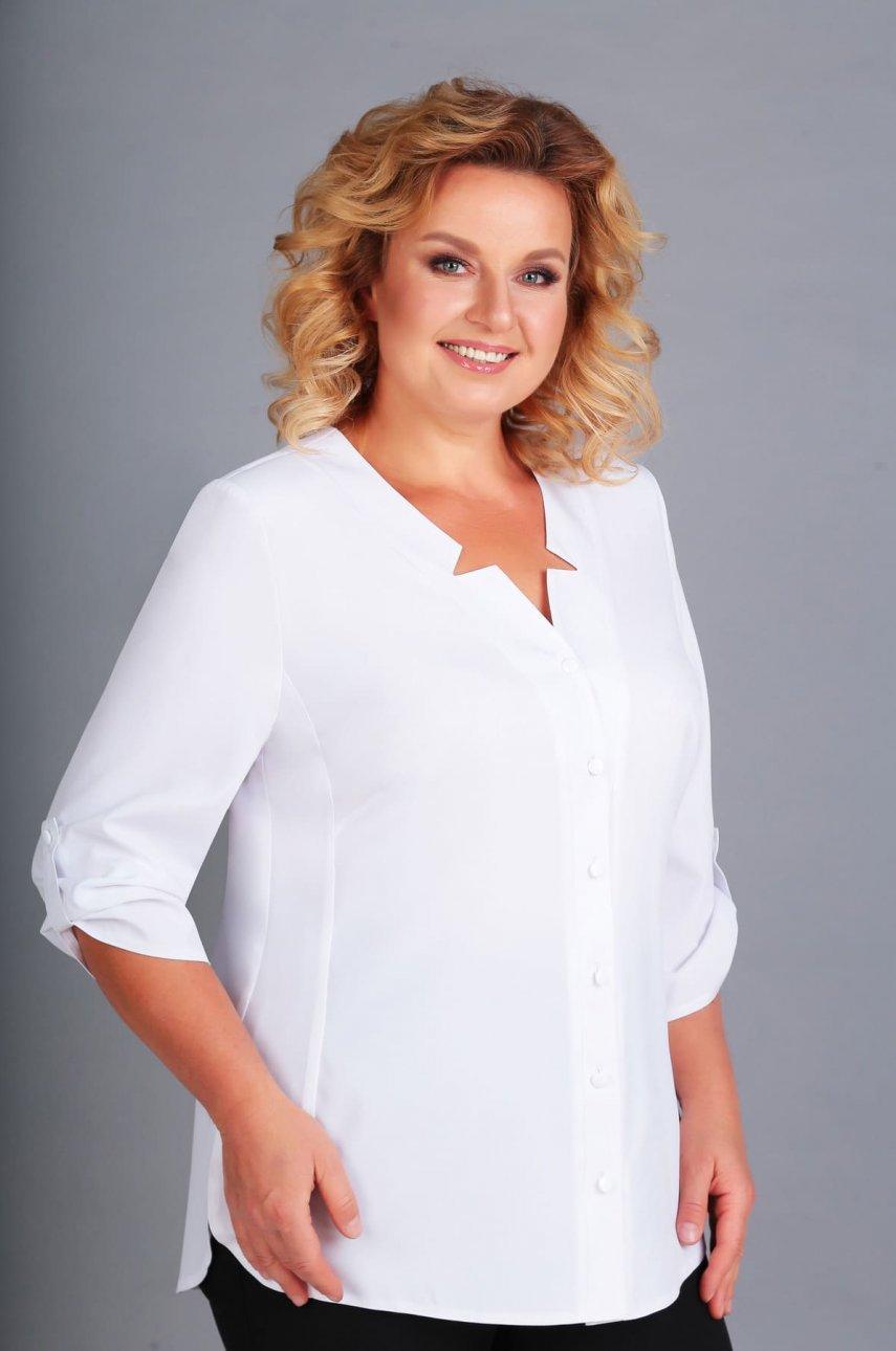 Блуза Асолия 4049 белый