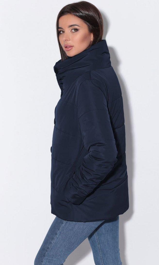 Куртка LeNata 11042 темно-синяя