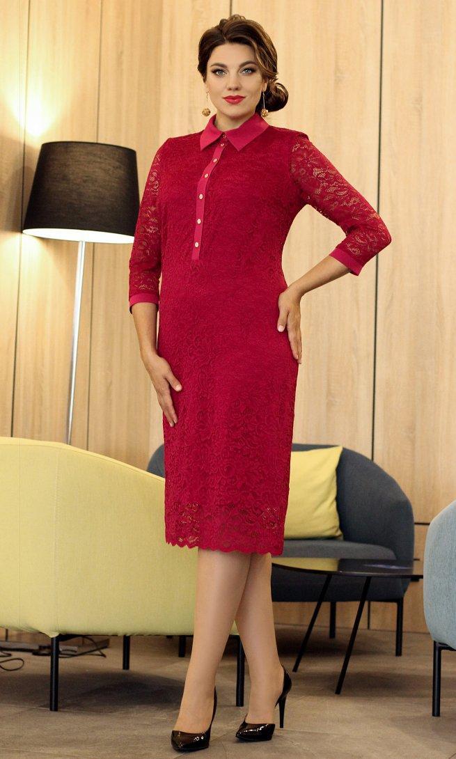Платье Мода Юрс  2533 бордо
