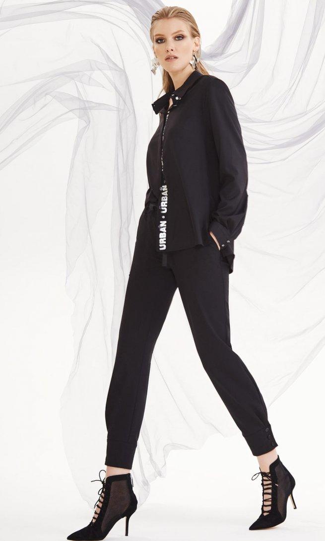 Блуза Di-Lia Fashion 0144-1 черная