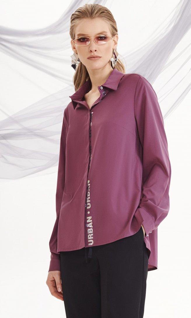 Блуза Di-Lia Fashion 0144-1 фиолетовая