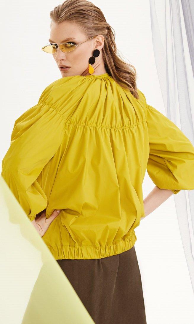 Куртка Di-Lia Fashion 0193 желтая