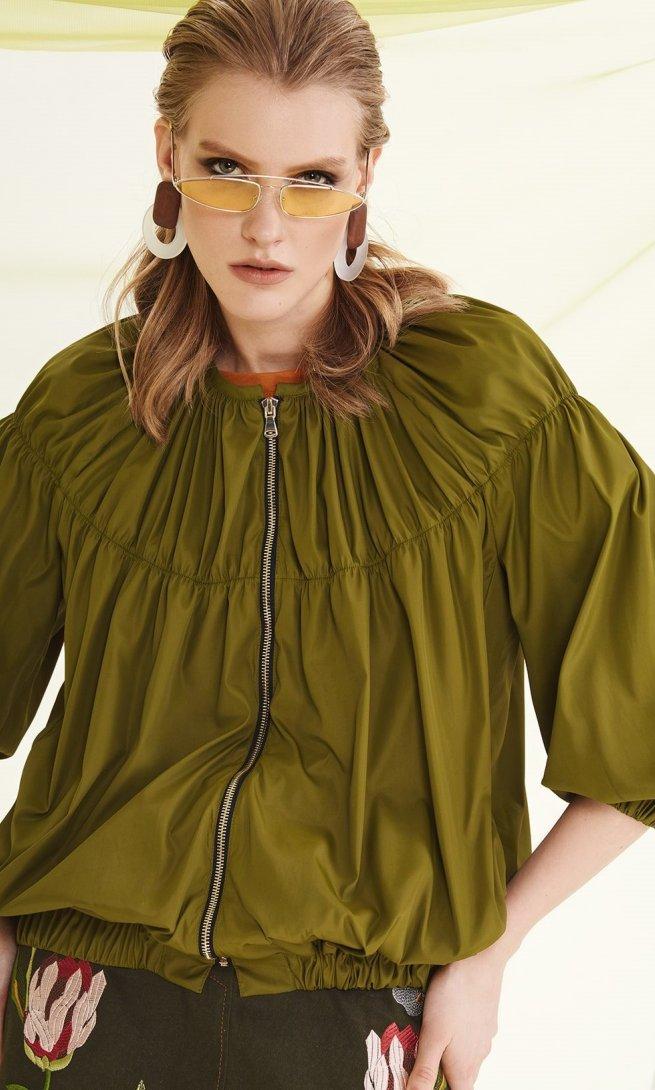 Куртка Di-Lia Fashion 0193 хаки