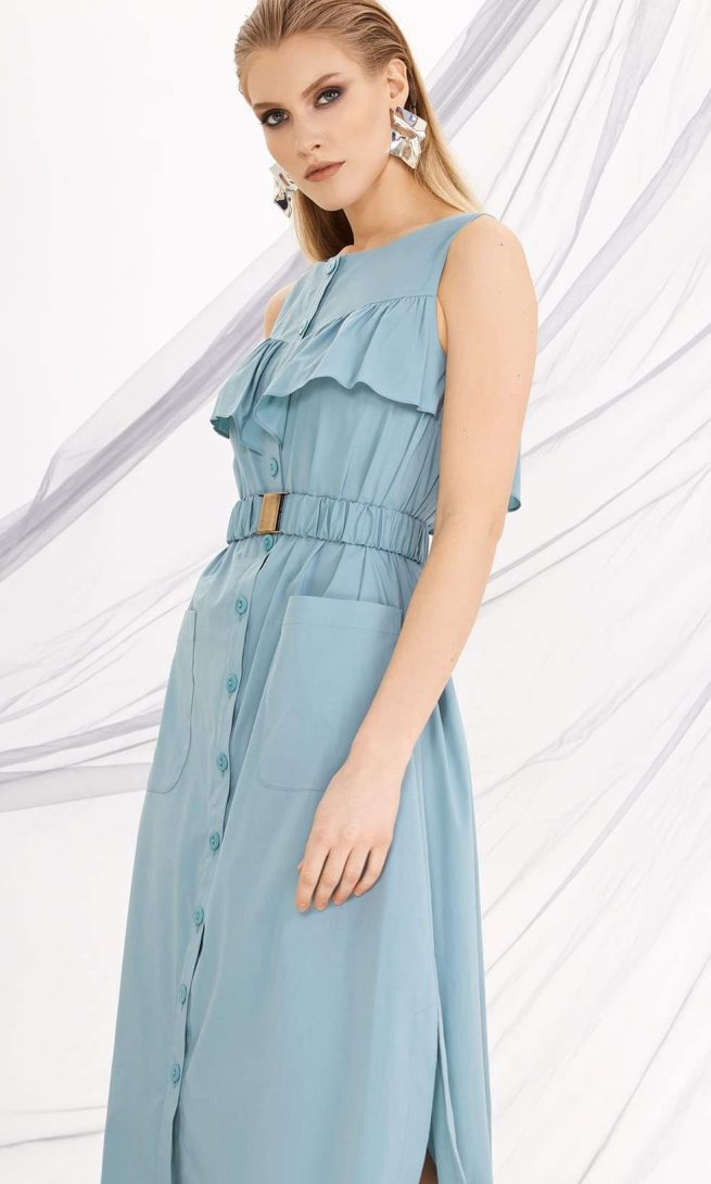 Платье Di-Lia Fashion 0212 мята