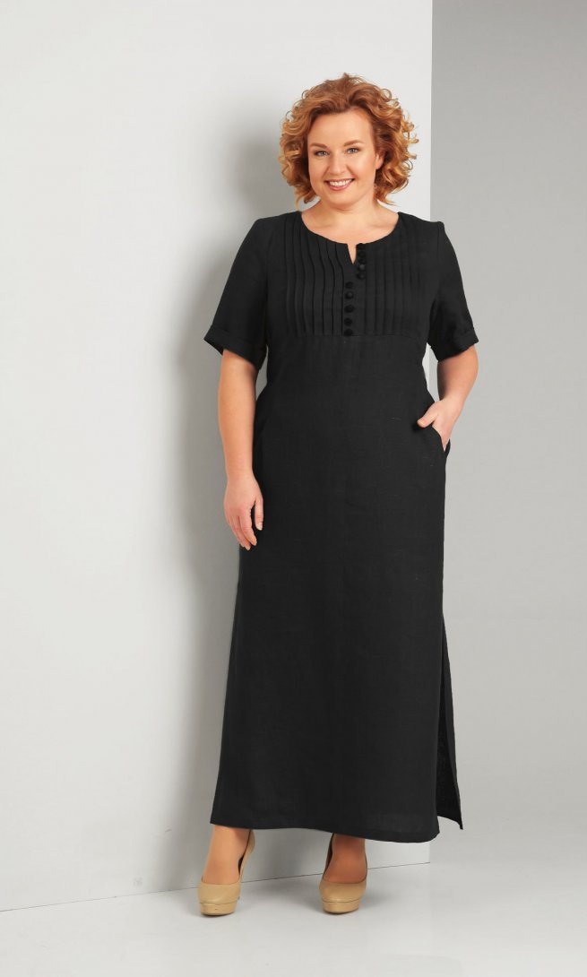 Платье Diamant 1287 черное