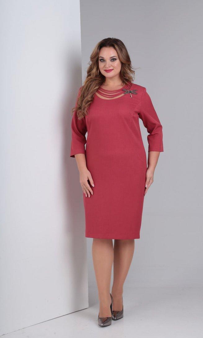 Платье Diamant 1463 розовое