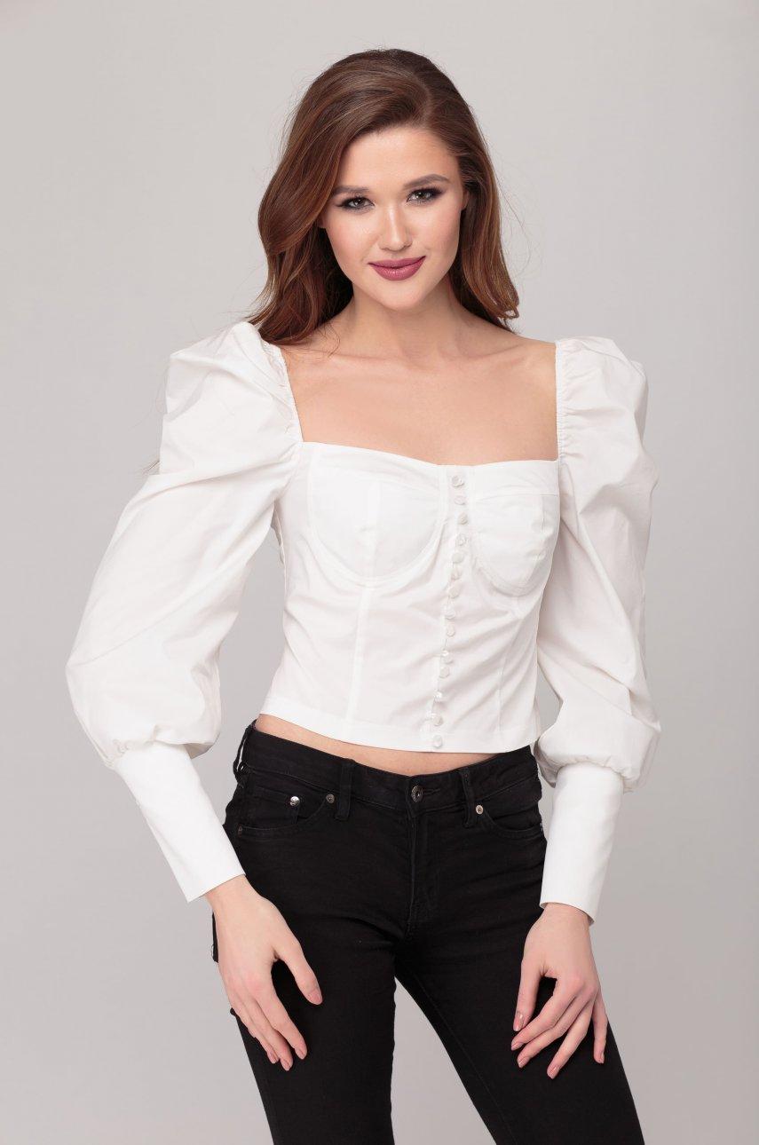 Блуза Элит Мода 5236 белая