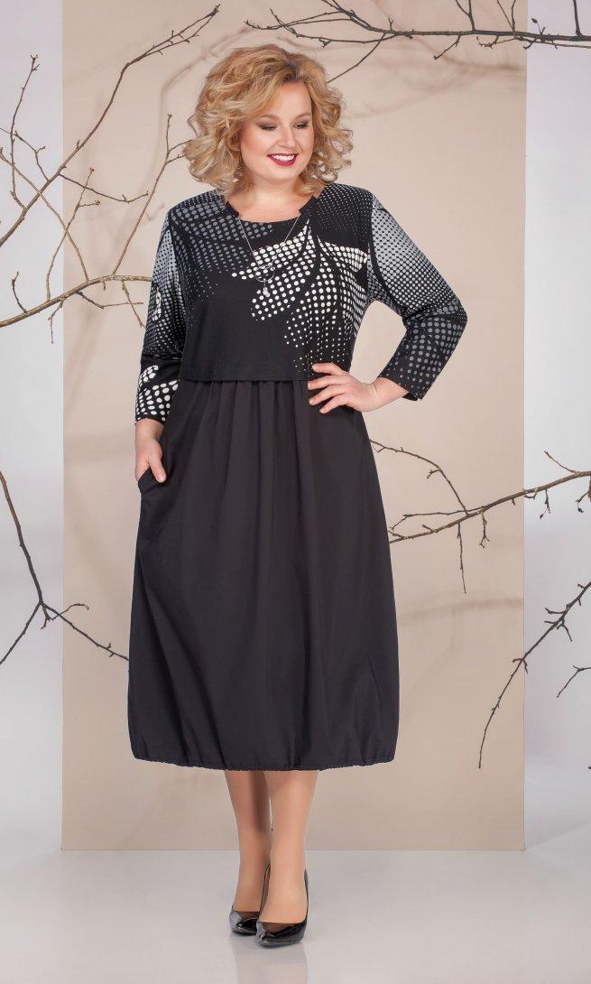 Платье Ivelta 1663 черное