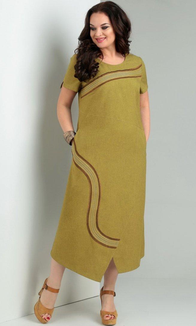 Платье Jurimex 1956 горчица