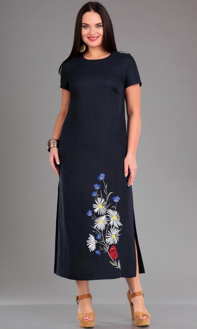 Платье Jurimex 1959 темно-синее