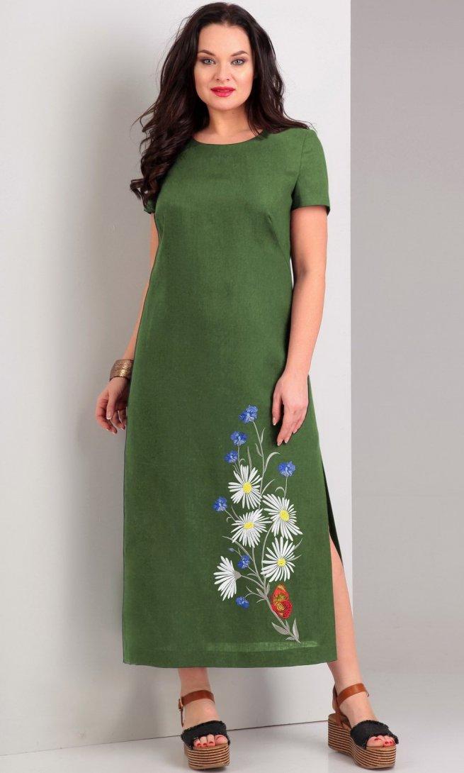 Платье Jurimex 1959 зеленое