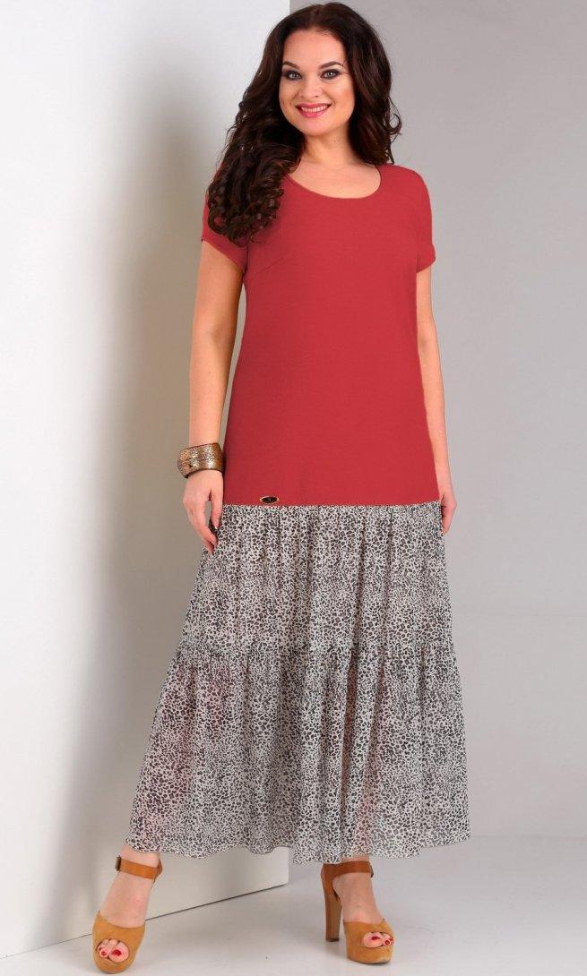 Платье Jurimex 1962 красный