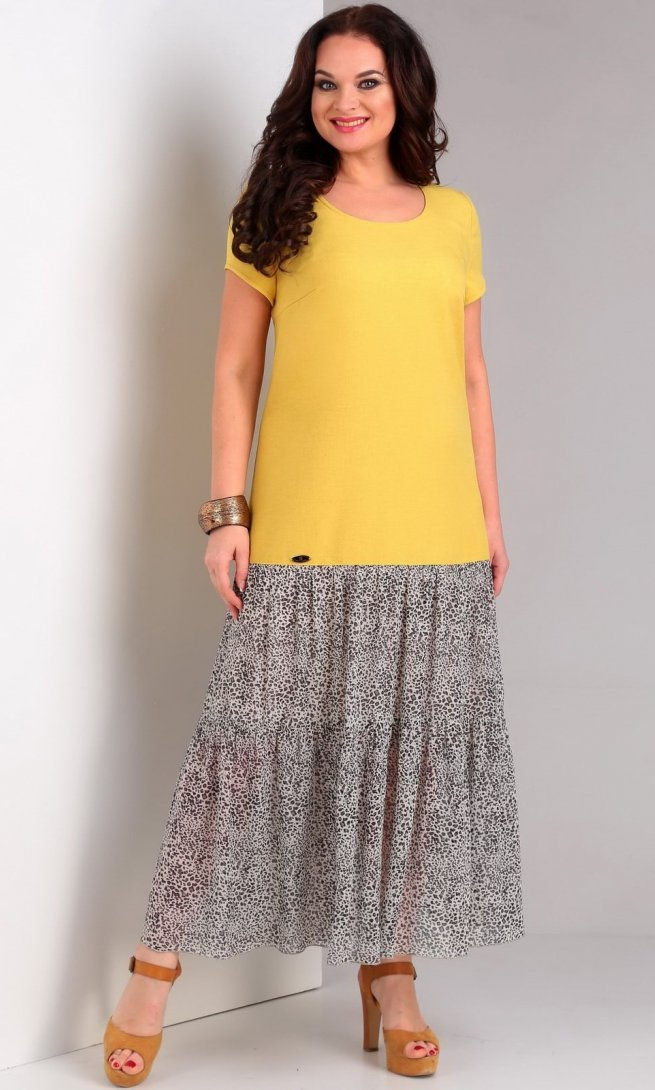 Платье Jurimex 1962 желтый
