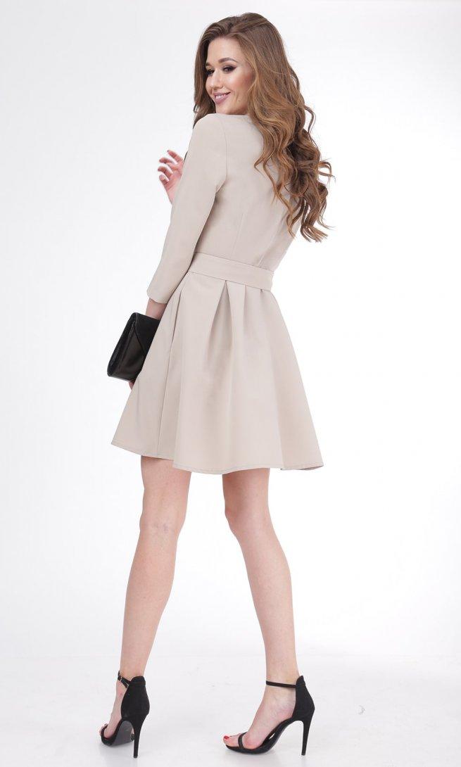 Платье Ladis Line 1052 беж