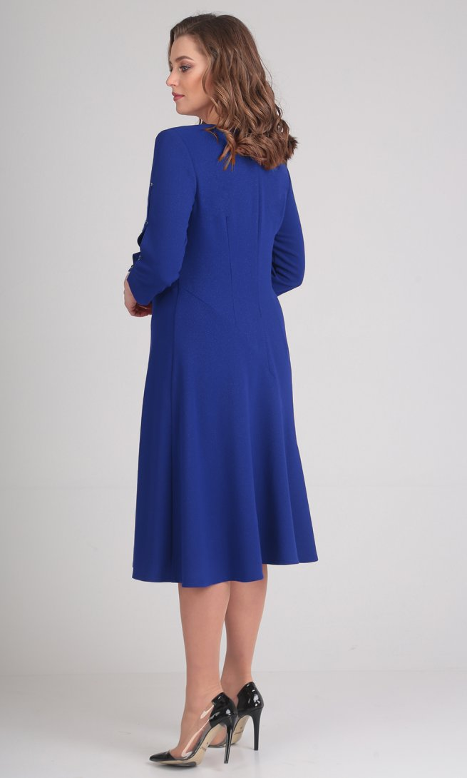 Платье Ladis Line 1056 василек