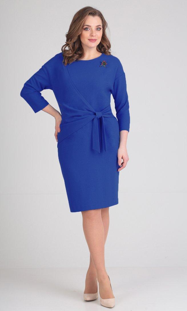 Платье Ladis Line 1059 василек