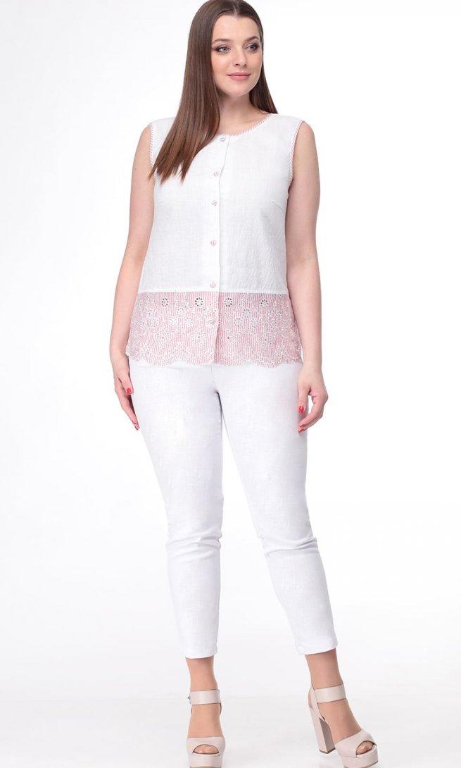 Блуза Ladis Line 1099/1 розовая