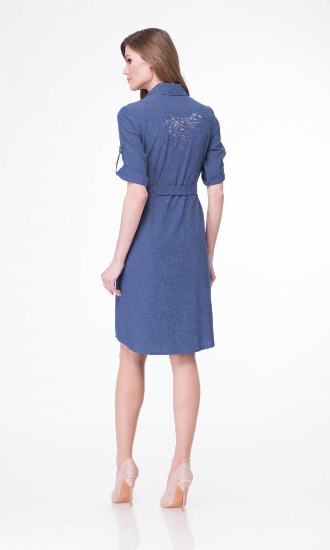 Платье Lady Three Stars 1971 синее