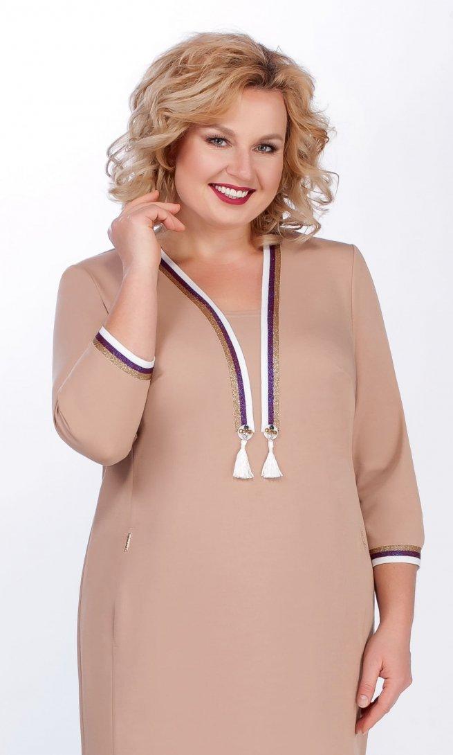 Платье LaKona 1188/1 песок