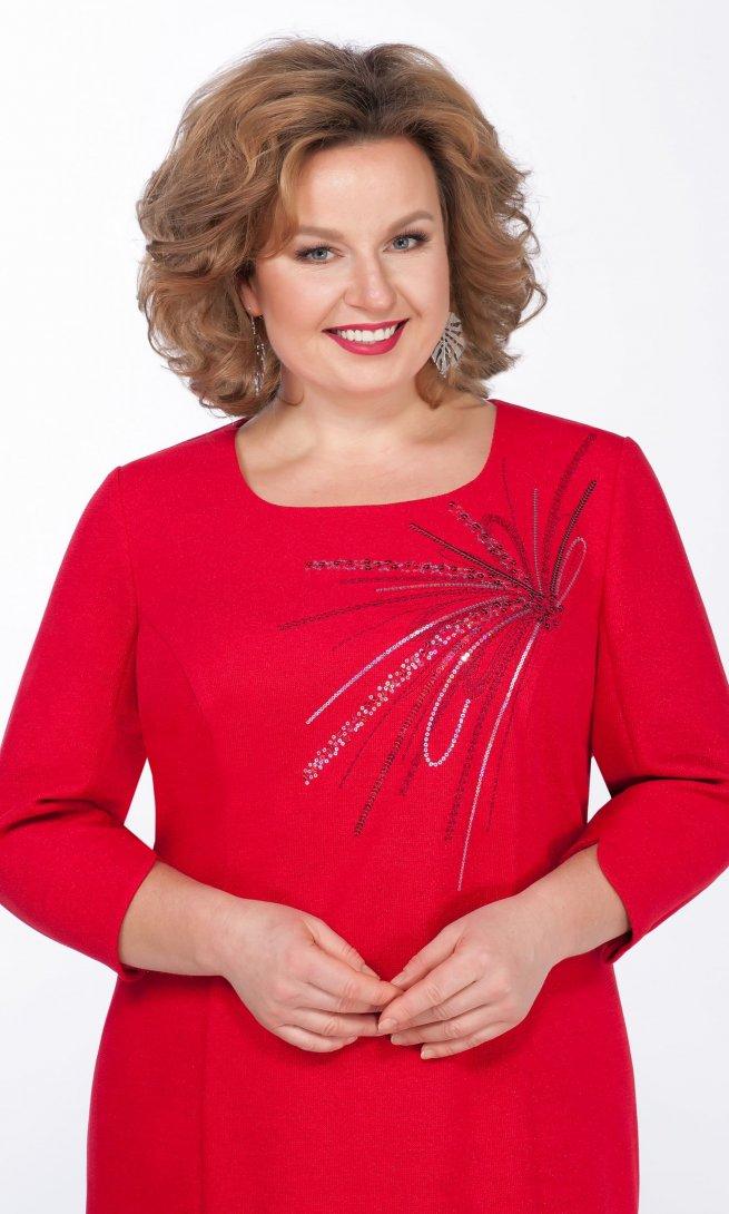 Платье LaKona 1273 красное