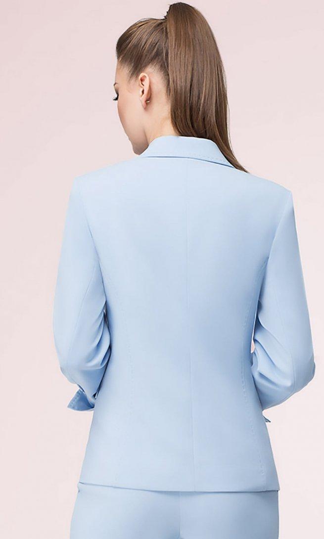 Жакет LeNata 11796 светло-голубой