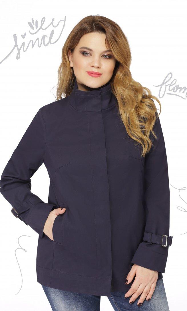 Куртка LeNata 11855 темно-синяя
