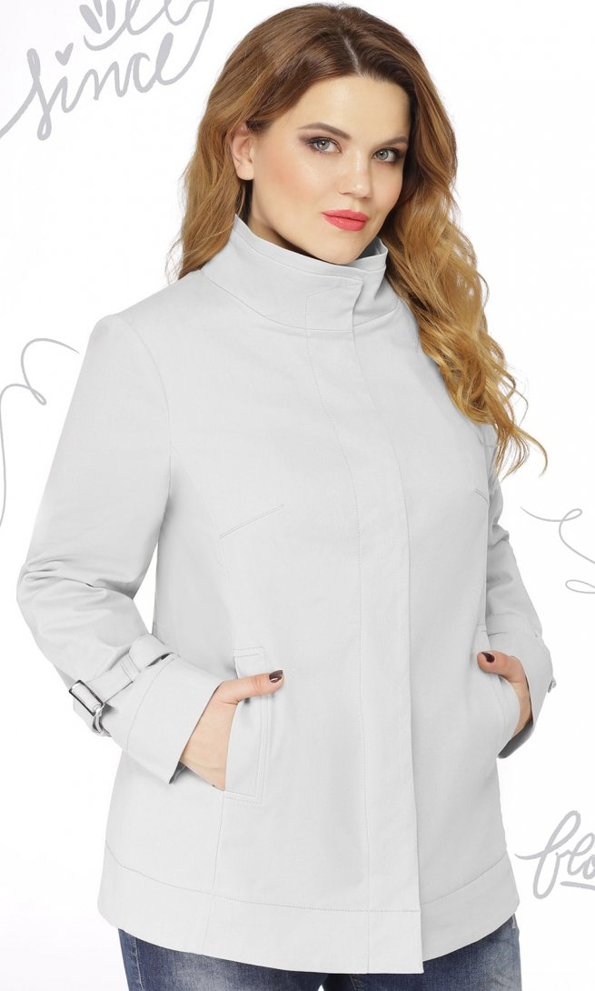 Куртка LeNata 11855 белая