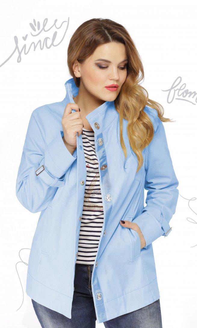 Куртка LeNata 11855 голубая