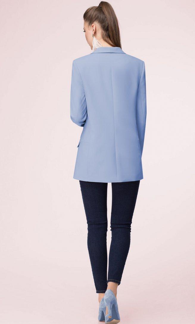Жакет LeNata 11927 темно-голубой