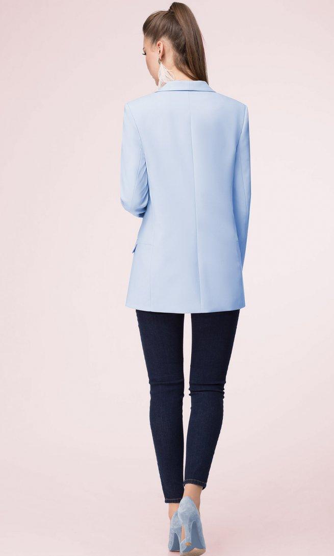 Жакет LeNata 11927 светло-голубой