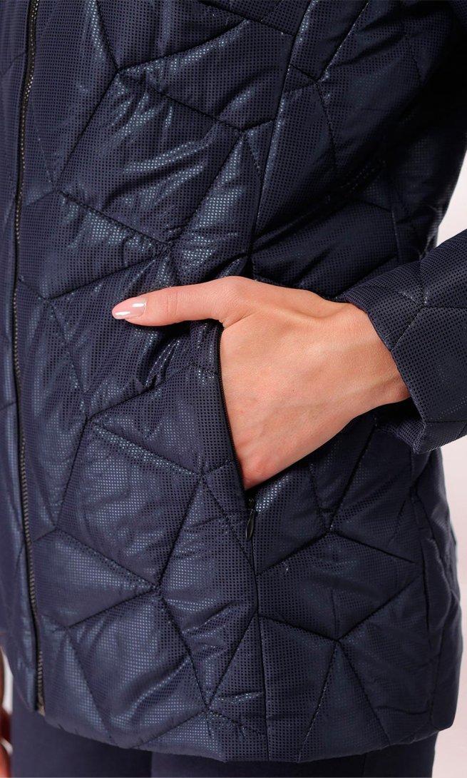 Куртка LeNata 12869 темно-синяя