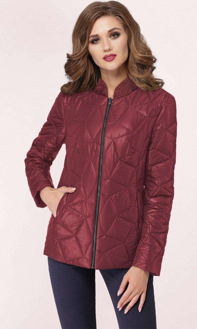 Куртка LeNata 12869 бордо
