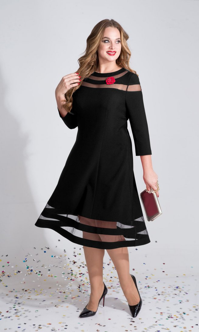Платье Liliana 789 черное