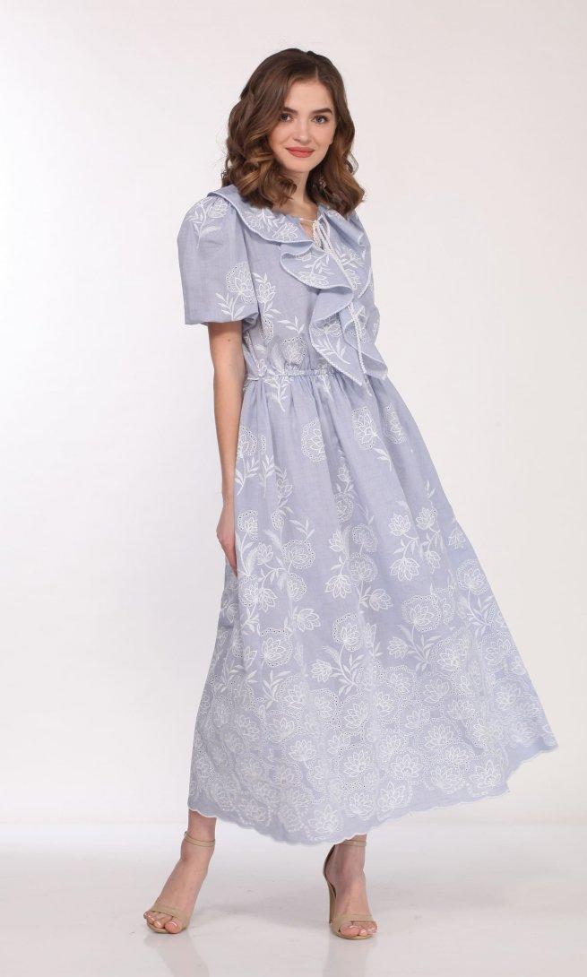Платье Olegran 3753 мультиколор