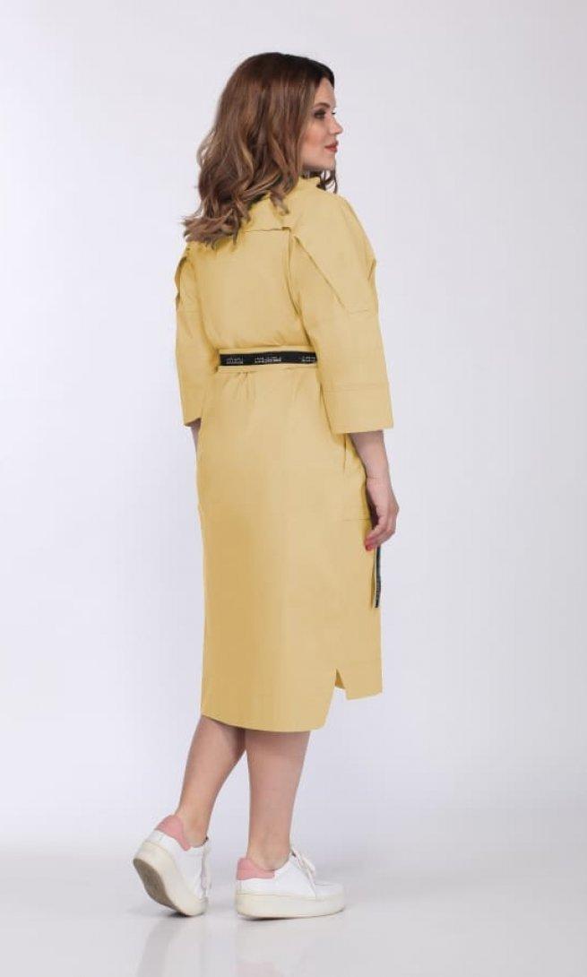 Платье Olegran 3718 манго