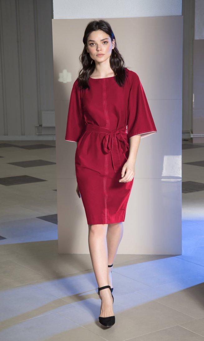 Платье Lokka 462 марсала