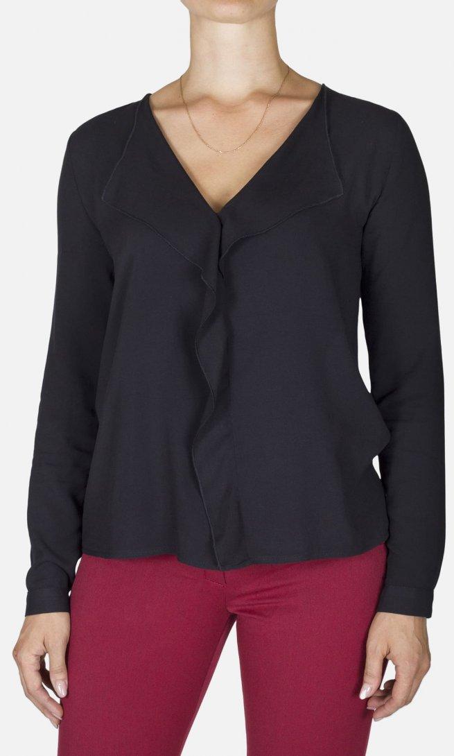 Блуза Mirolia 703 черная