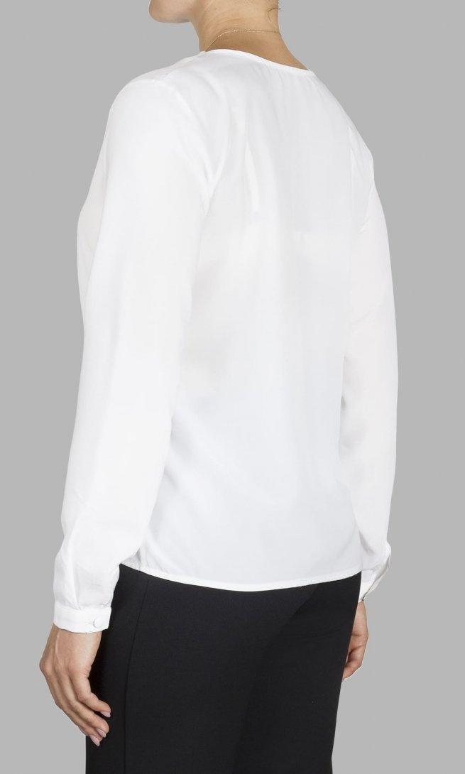 Блуза Mirolia 703 кремовая