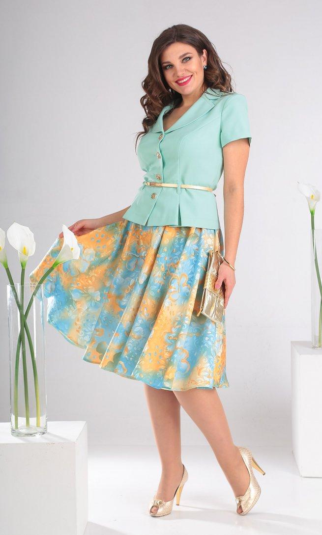 Комплект Мода Юрс 2103 нежно-голубой