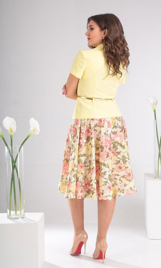 Комплект Мода Юрс 2103 нежно-желтый