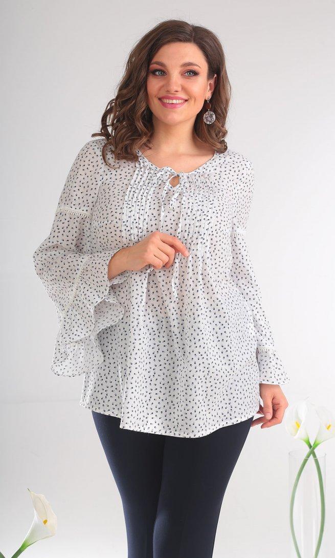 Блуза Мода Юрс 2345 молоко